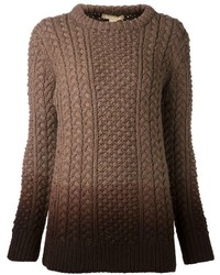Jersey de ochos marrón de Michael Kors