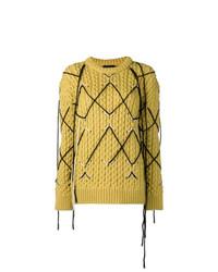 Jersey de ochos mostaza de Calvin Klein 205W39nyc