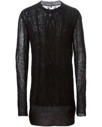 Jersey de ochos negro de Ann Demeulemeester