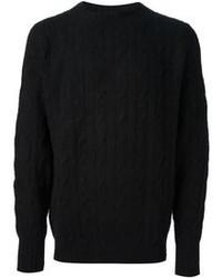 Jersey de ochos negro de Drumohr