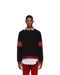 Jersey de ochos negro de Gucci