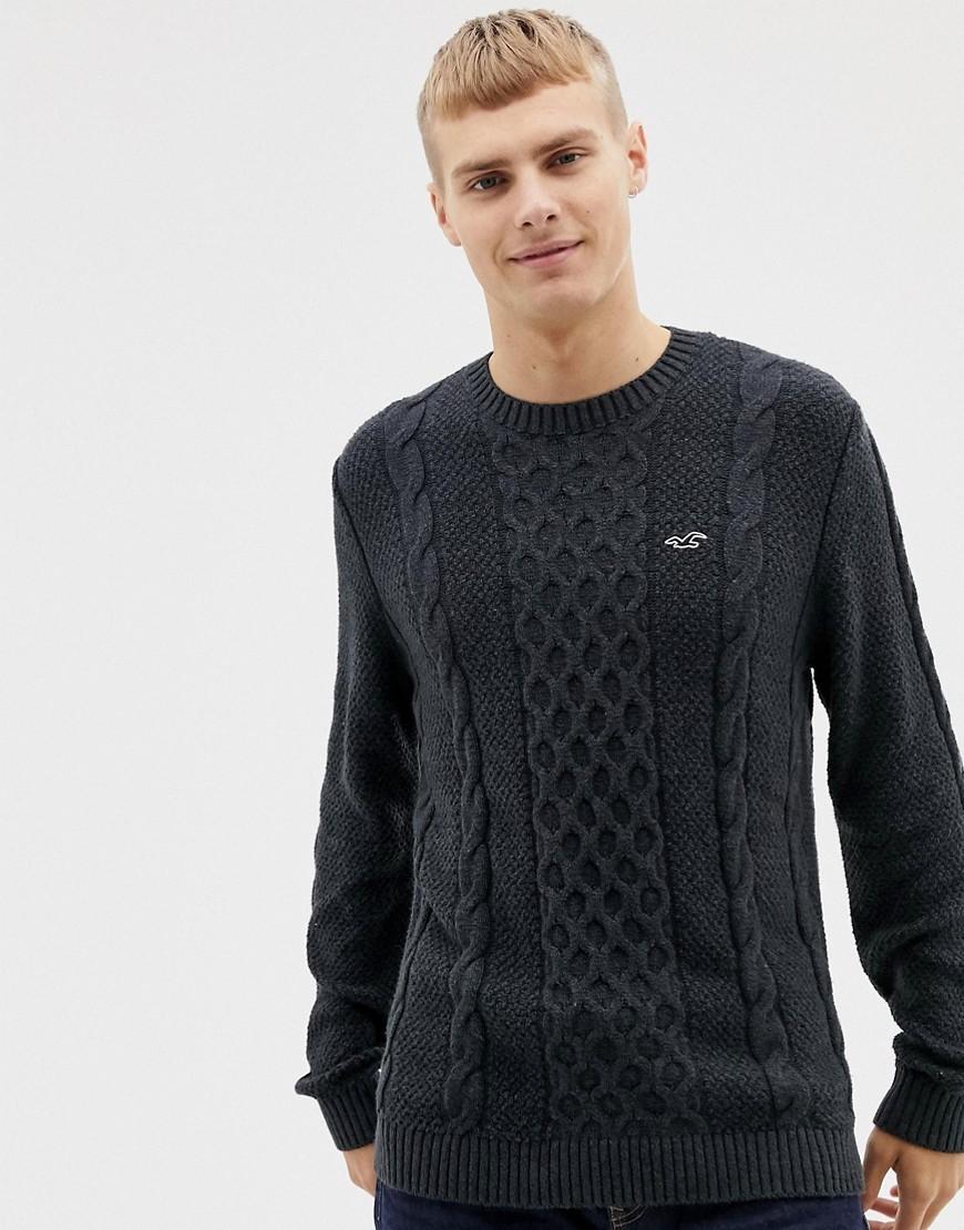 Jersey de ochos negro de Hollister
