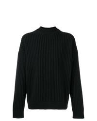 Jersey de ochos negro de Jil Sander