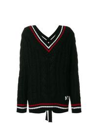 Jersey de ochos negro de N°21
