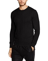 Jersey de ochos negro de Paul James Knitwear Limited