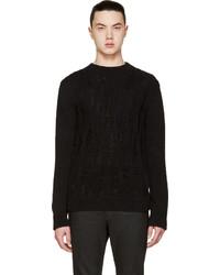 Jersey de ochos negro de Saint Laurent