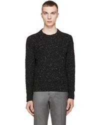 Jersey de ochos negro de Thom Browne