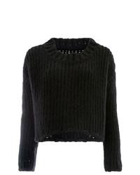 Jersey de ochos negro de Uma Wang