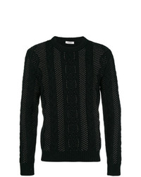 Jersey de ochos negro de Valentino