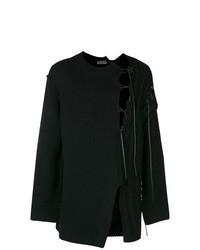 Jersey de ochos negro de Yohji Yamamoto