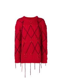 Jersey de ochos rojo de Calvin Klein 205W39nyc