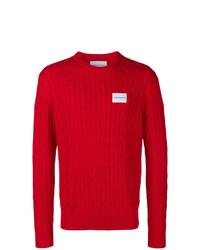 Jersey de ochos rojo de Calvin Klein Jeans
