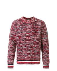 Jersey de ochos rojo de Moncler