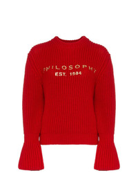 Jersey de ochos rojo de Philosophy di Lorenzo Serafini