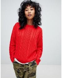 Jersey de ochos rojo de Pull&Bear