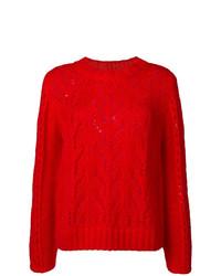 Jersey de ochos rojo de Semicouture