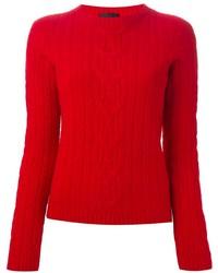Jersey de ochos rojo de The Row