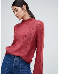 Jersey de ochos rojo de Vila
