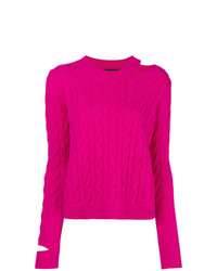 Jersey de ochos rosa de Erika Cavallini