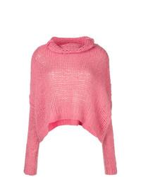 Jersey de ochos rosa de Pinko