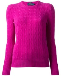 Jersey de ochos rosa de Polo Ralph Lauren