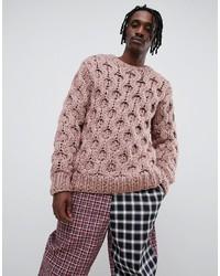 Jersey de ochos rosado de ASOS DESIGN