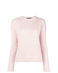 Jersey de ochos rosado de Loro Piana