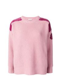 Jersey de ochos rosado de Moncler