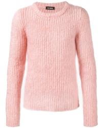 Jersey de ochos rosado de Raf Simons