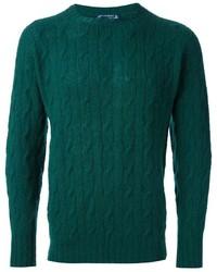 Jersey de ochos verde oscuro