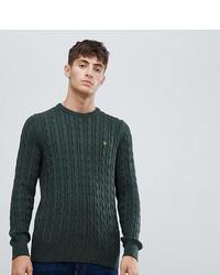 Jersey de ochos verde oscuro de Farah