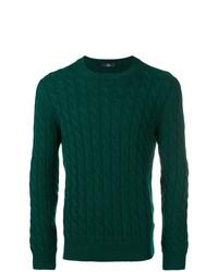 Jersey de ochos verde oscuro de Fay