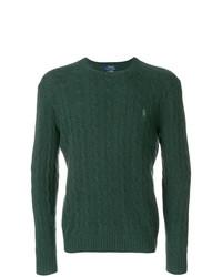Jersey de ochos verde oscuro de Polo Ralph Lauren