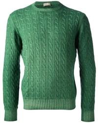 Jersey de ochos verde de Cruciani