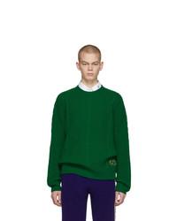Jersey de ochos verde de Gucci