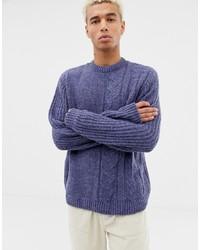 Jersey de ochos violeta claro de ASOS DESIGN