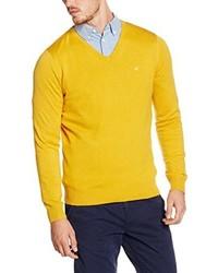 Jersey de pico amarillo de Tom Tailor