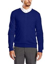 Jersey de pico azul marino de Benetton