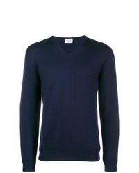 Jersey de pico azul marino de Dondup