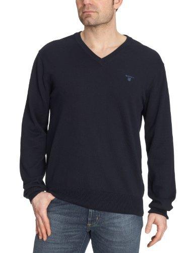 Jersey de pico azul marino de Gant