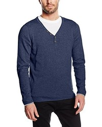 Jersey de pico azul marino de Tom Tailor Denim