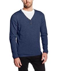 Jersey de pico azul marino de Tom Tailor Denim