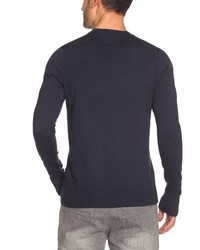 Jersey de pico azul marino de Tommy Hilfiger