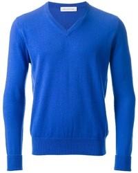 Jersey de pico azul