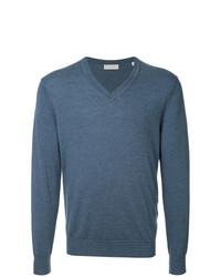 Jersey de pico azul de Gieves & Hawkes