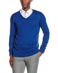Jersey de pico azul de Jack & Jones