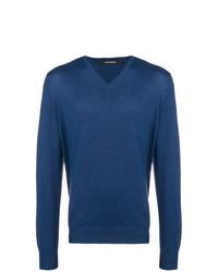 Jersey de pico azul de Tagliatore