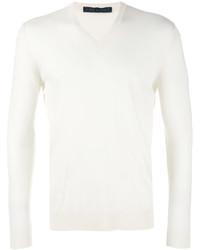 Jersey de pico blanco de Kiton