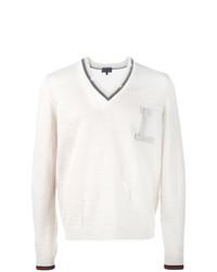 Jersey de pico blanco de Lanvin