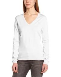 Jersey de pico blanco de Tommy Hilfiger